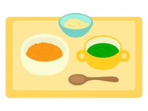 【お食事体は学習タイム】